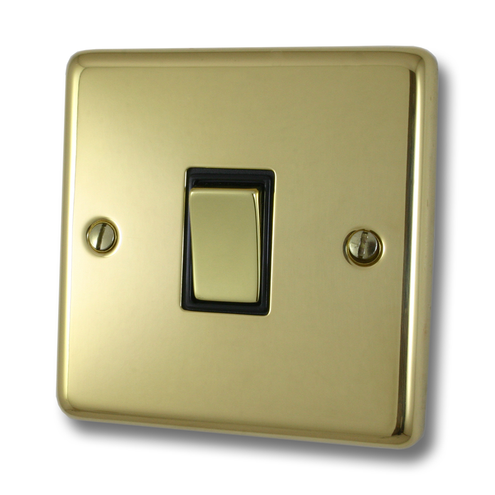 Contour Polished Brass