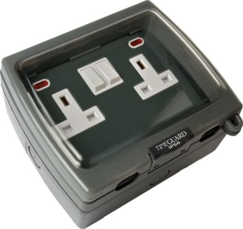 Outdoor Sockets and Switches
