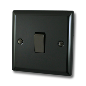 Polished Black Sockets and Switches