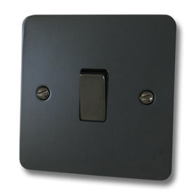 Flat Polished Black Sockets and Switches