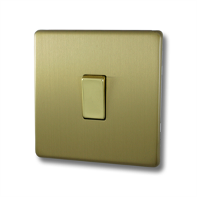 Screwless Brushed Brass