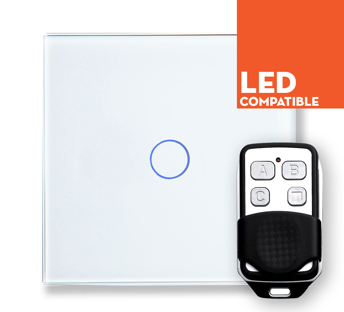 White Touch Dimmers