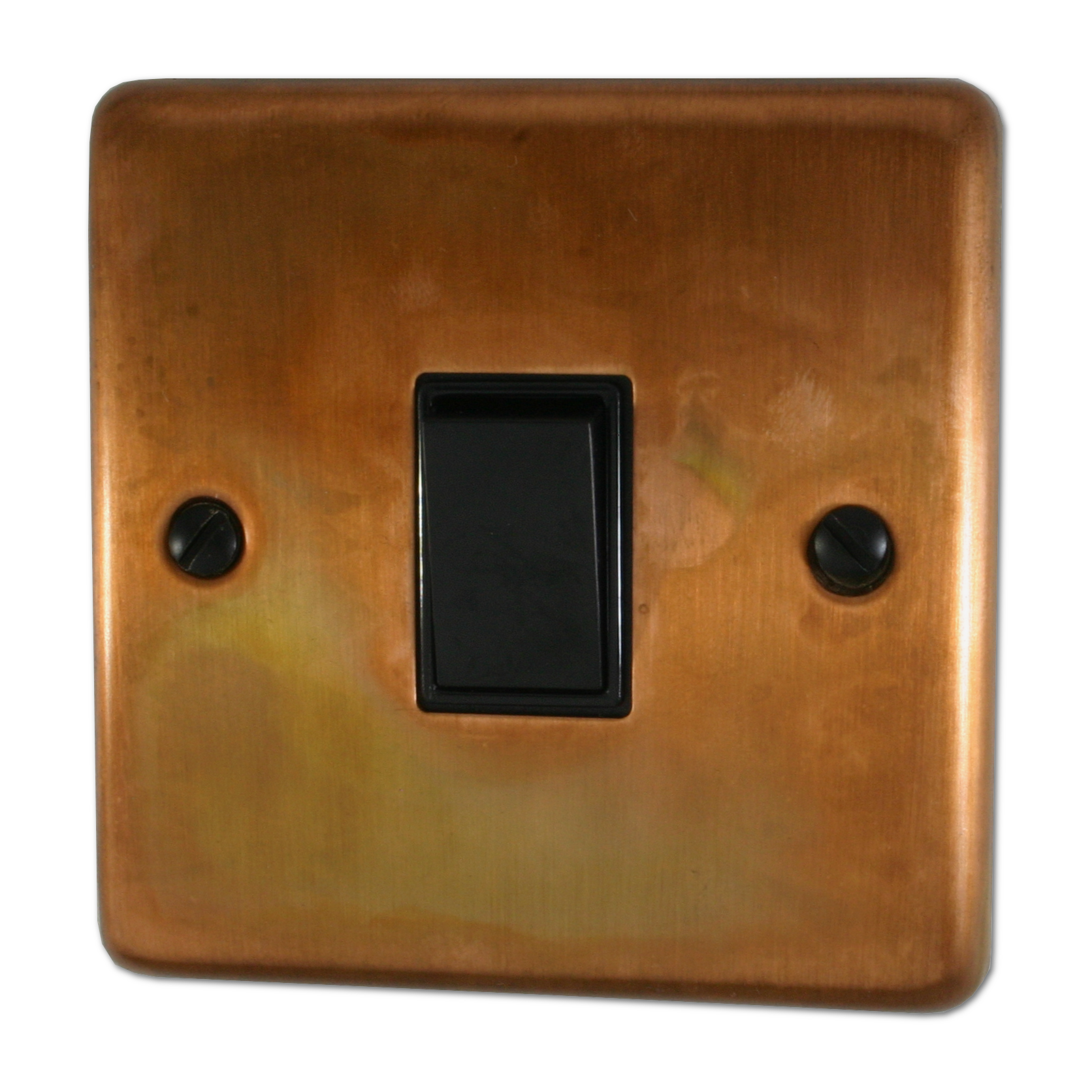 Tarnished Copper Sockets and Switches