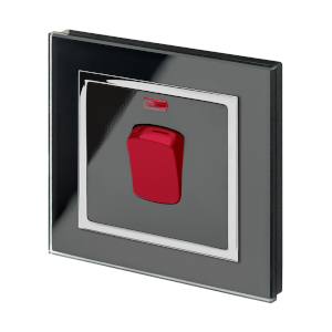 Black Glass Cooker Switch